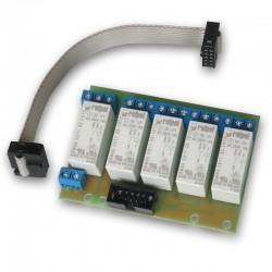 TINYCONTROL rozšiřující modul k LAN ovladači v3, 5x relé, 9 - 30 V (16A)