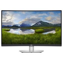 """DELL S3221QS/ 32"""" LED/ 16:9/ 3840x2160/ 3000:1/ 2xHDMI/ DP/ 2xUSB/ stříbrný/ repro/ 3YNBD on-site"""