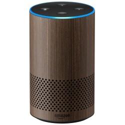 AMAZON hlasový asistent Echo Walnut/ Amazon Alexa/ Wi-Fi/ Bluetooth/ 3.5 mm jack/ 2. generace/ vlašský ořech