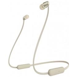SONY headset do uší WI-C310/ sluchátka bezdrátová + mikrofon/ USB-C/ Bluetooth/ zlatý