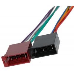 OEM konektor ISO/ 5-pin napájecí -  8-pin repro/ sada k autorádiu