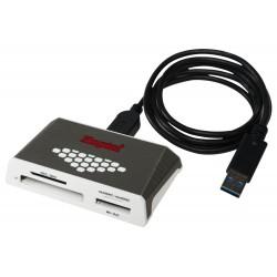 KINGSTON SuperSpeed All-in-One Media Card Reader / čtečka karet / USB 3.0 / Gen 4