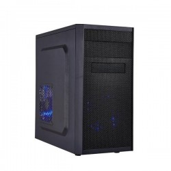 EUROCASE MicroT MC X203 EVO / bez zdroje / 2x USB2.0 / 1x USB3.0 / black