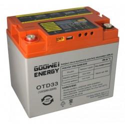 GOOWEI ENERGY DEEP CYCLE (GEL) baterie GOOWEI ENERGY OTD33, 33Ah, 12V