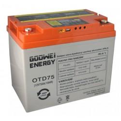 GOOWEI ENERGY DEEP CYCLE (GEL) baterie GOOWEI ENERGY OTD75, 75Ah, 12V
