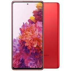 "Samsung Galaxy S20 FE - cloud red   6,5"" SAMOLED/ DualSIM/ 128GB/ 6GB RAM/ IP68/ LTE/ Android 10"