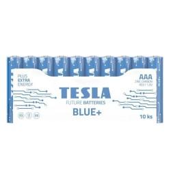 TESLA BLUE+ Zinc Carbon baterie AAA (R03, mikrotužková, fólie) 10 ks