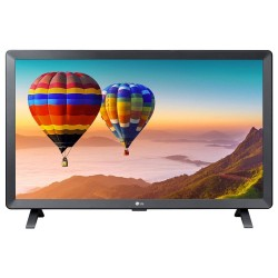 "LG TV monitor 24TN520S-PZ/ 23,6""/ IPS / 1366x768 / 16:9 / DVB-T2/C/S2 / HDMI"