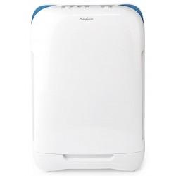 NEDIS čistička vzduchu/ 4 rychlosti/ rozsah 25 m2/ výkon 50 W/ šum 35-54 dB/ indikátor kvality vzduchu/ bílá
