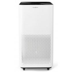 NEDIS čistička vzduchu/ 4 rychlosti/ rozsah 45 m2/ výkon 35 W/ šum 30-54 dB/ indikátor kvality vzduchu/ bílá