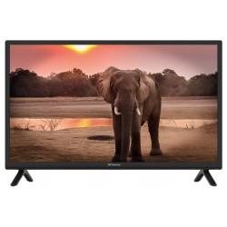 """STRONG LED TV 24""""/ SRT24HC4023/ 1366x768/ DVB-T2/C/S2/ H.265/HEVC/ CRA ověřeno/ HDMI/ USB/ 12V/ černá/ A"""