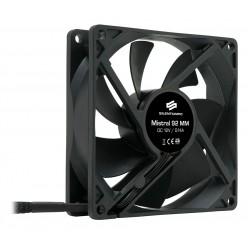 SilentiumPC přídavný ventilátor Mistral 92 / 92mm fan/ ultratichý 21 dBA