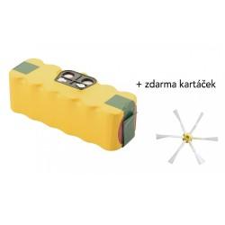 PATONA baterie pro robotický vysavač iRobot Roomba 3300mAh, 14,4V Ni-MH, pro sérii 5xx, 6xx, 7xx, 8xx + kartáček ZDARMA