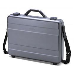 """DICOTA brašna na notebook (kufr) Alu Briefcase 15""""-17,3""""/ šedá-hliník"""