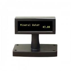 OEM zákaznický displej VFD 200 / 2x20 znaků / 9mm / USB / černý