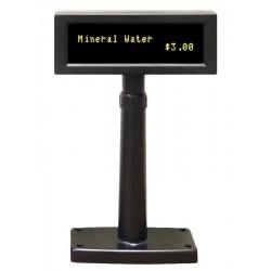 OEM zákaznický displej VFD 860 / 2x20 znaků / 9mm / RS-232 / černý