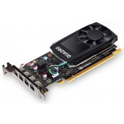 HP Nvidia Quadro P620 2GB 4x MDP, Kit w/2 Adapters mDP to DP