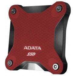 ADATA SD600Q 240GB SSD / Externí / USB 3.1 / červený
