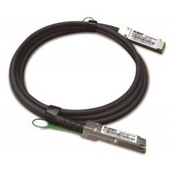Planet CB-DAQSFP-0.5M, QSFP+ metalický spojovací kabel, 40Gb/s, 0,5m