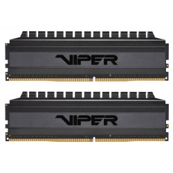 PATRIOT Viper 4 Blackout Series V4B 16GB DDR4 4133MHz / DIMM / CL18 / 1,4V / Heat Shield / KIT 2x 8GB