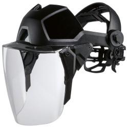 UVEX štít Pheos faceguard, PC čirý, 2C-1,2, SV. excellence / bez ochrany sluchu /velikosť hlavy 52-64 cm,
