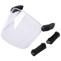 UVEX Štít Pheos visor, PC čirý/UV 400, SV excellence /magnetické postranní upevnění/ochranapřed mechanickými vlivy (jisk
