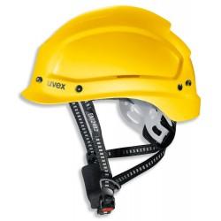 UVEX Přilba Pheos alpine - žlutá / multifunkční pro práce ve výškach a záchranářské práce