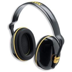 UVEX Dielektrické mušlové chrániče K200 s náhlavním obloukem /SNR: 28 dB / možnost nastavení délky / mušle lze otáčet o