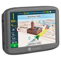 "NAVITEL GPS navigace do auta E200 TMC/ displej 5""/ rozlišení 480 x 272/ mini USB/ 3.5 mm audio jack"