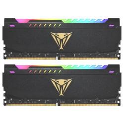PATRIOT Viper Steel RGB 16GB DDR4 3200MHz / DIMM / CL18 / 1,35V / KIT 2x 8GB