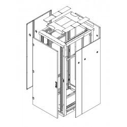 """Triton 19""""' rozvaděč stojanový rozebiratelný 42U - rám s dveřmi 42U, 800mm šířka, flat pack"""