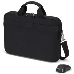DICOTA brašna na notebook Top Traveller Wireless Mouse Kit/ černá