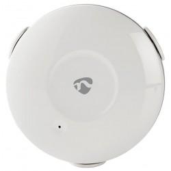 NEDIS Wi-Fi chytrý detektor úniku vody/ napájení na baterii/ 1x CR2/ bílý
