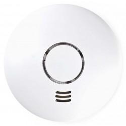 NEDIS Wi-Fi chytrý detektor kouře/ hlasitost 90 dB/ výdrž snímače 10 let/ 2x AA/R6/ bílý