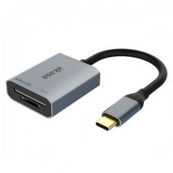 AKASA USB 3.2 Type-C čtečka paměťových karet microSD/SD / AK-CR-10BK / 18cm / černá