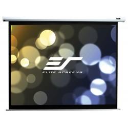 """ELITE SCREENS plátno elektrické motorové 84"""" (213,4 cm)/ 16:9/ 104,6 x 185,9 cm/ Gain 1,1/ case bílý"""