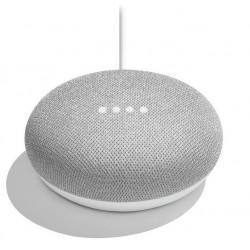 Google hlasový asistent Home Mini Chalk/ Google Assistant/ Wi-Fi/ Bluetooth/ micro USB/ CZ adaptér/ bílý