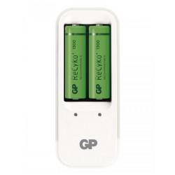 GP nabíječka baterií PB410 + 2x AA NiMH 1300mAh Recyko+ 8hod