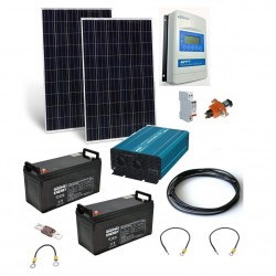 GWL/POWER OffGrid 2000 ostrovní solární elektrárna, 570Wp, 120Ah, 2 kW