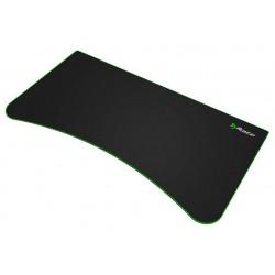 AROZZI ARENA Deskpad/ ochranná podložka na celý stůl Arena/ černá/ zelený okraj