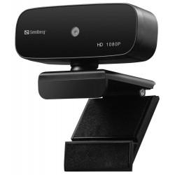 Sandberg webkamera USB Webcam Autofocus / 1080P / černá