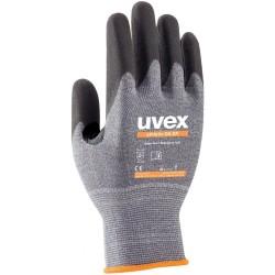 UVEX Rukavice Athletic D5 XP (10ks) vel. 10 /suché , vlhké a mokré prostředí /odolnost proti proříznutí tř. D / pratelné