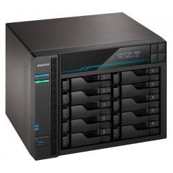 "Asustor NAS AS6510T / 10x 2,5""/3,5"" SATA III, 2x M.2/ Intel ATOM C3538 2.1 GHz/ 8GB/ 2x 10 GbE + 2x 2.5 GbE/ 2x USB 3.2"