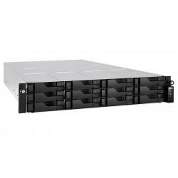 "Asustor NAS AS6212RD/RAIL KIT / 12x 2,5""/3,5"" SATA III/ Intel Celeron 1.6GHz/ 4GB/ 4x GbE/ 4x USB 3.0/ HDMI/ red. zdroj"