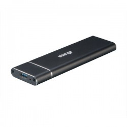 AKASA externí box pro M.2 SSD SATA II/III / AK-ENU3M2-02 / USB Type-C / hliníkový / černý