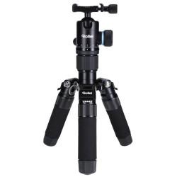 Rollei Stativ CT-5C+52Q Karbon/ Zátěž 8kg/ Vytažený 157cm/ Karbon/ Černý