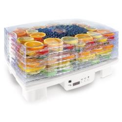 G21 sušička ovoce, zeleniny a hub Paradiso big/ 550W/ 6 plat/ 4kg/ bílá