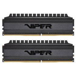 PATRIOT Viper 4 Blackout Series V4B 64GB DDR4 3200MHz / DIMM / CL16 / 1,35V / Heat Shield / KIT 2x 32GB