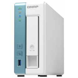 QNAP TS-131K   1,7GHz/1GBRAM/1xSATA/1xGbE/3xUSB3.2