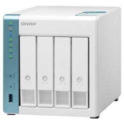 QNAP TS-431K   1,7GHz/1GBRAM/4xSATA/2xGbE/3xUSB3.2